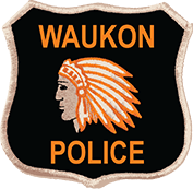 Waukon Police Badge Logo