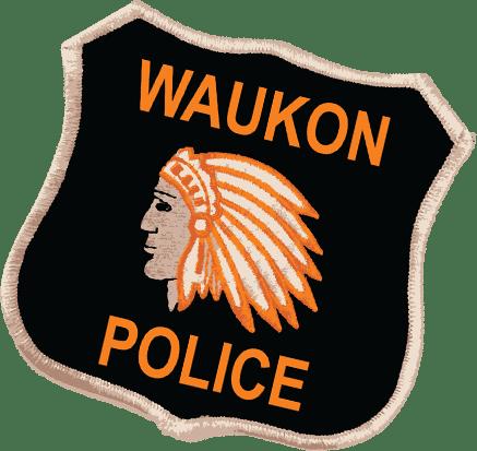 Waukon Police Badge Logo
